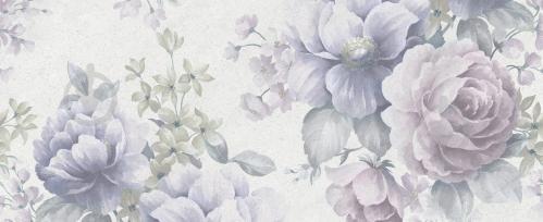 Плитка Golden Tile Garden cирий декор №1 20х50 6М2151 - фото 1