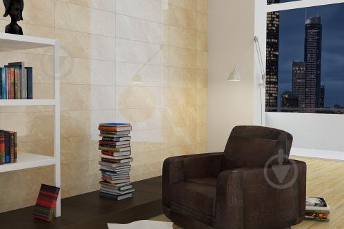 Плитка Golden Tile Eina бежевая 791010 25x75 - фото 2