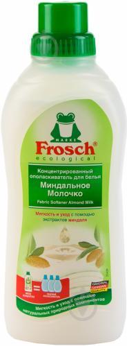Кондиціонер для білизни Frosch Мигдальне Молочко 0,75 л - фото 1