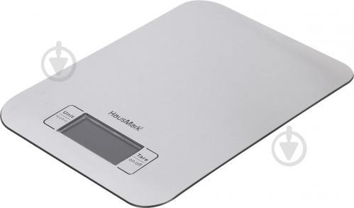 Весы кухонные HausMark HKS-8030IX - фото 1