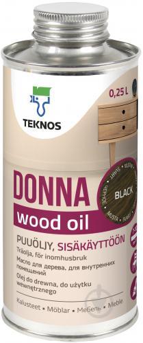 Масло для древесины TEKNOS Donna мат 0,25 л - фото 1