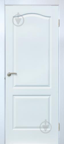 Дверне полотно ОМіС Класика ПГ 800 мм білий структурний