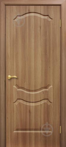 Дверне полотно ОМіС Прима ПГ 800 мм дуб золотий
