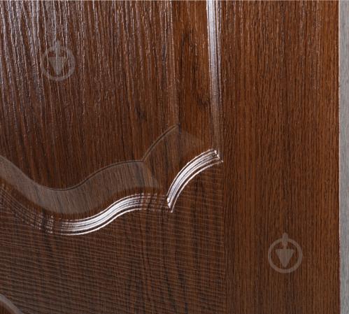 Дверне полотно ПВХ ОМіС Прима ПГ 600 мм каштан - фото 3
