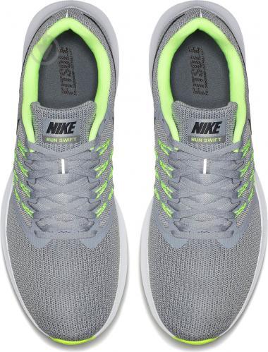 Цвет черный, светло Кроссовки Nike Run Swift 908989-008 р. 9.5 серый -  фото 15 factory outlet . ...