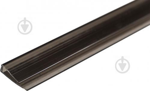 Торцевий U-профіль 8мм x 2,1м бронзовий