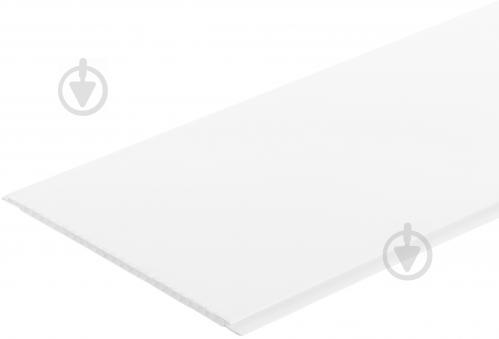 Панель ПВХ EP001 белый глянец 7x250x2970 мм (0,7425 кв.м)