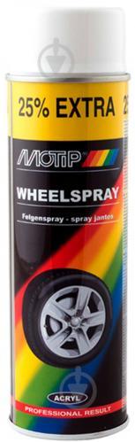 Краска аэрозольная Motip для дисков белый 500 мл