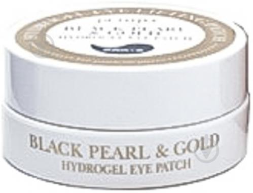 Гидрогелевые патчи Petitfee для глаз с золотом и черным жемчугом 60 шт./уп. - фото 2