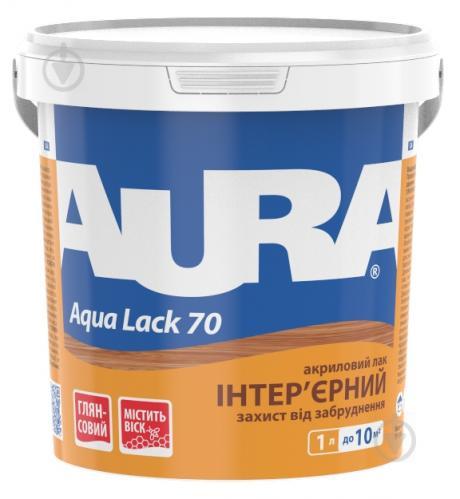 Лак інтер'єрний Aqua Lack 70 Aura® глянець 1 л - фото 1