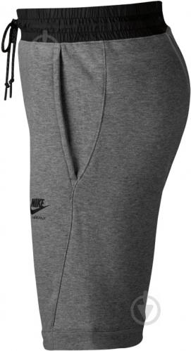 Шорты Nike M NSW SHORT AIR MAX FT 886079-091 р. S серый - фото 3