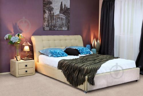 Кровать Embawood Coffe Time Caramel 160x200 см кремовый - фото 6
