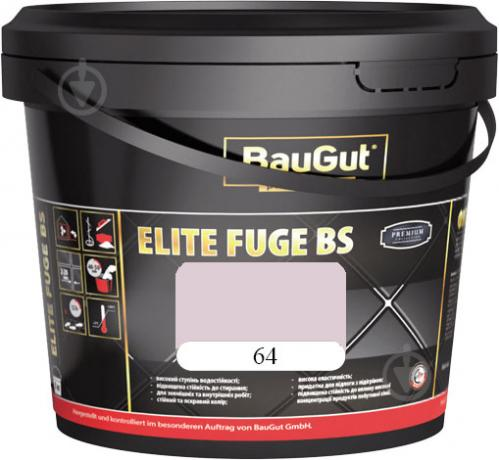 Фуга BauGut Elite BS 64 5 кг молочно-белый