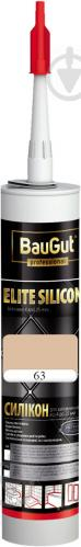 Герметик силиконовый BauGut Silicon Elite 63 багама 300мл
