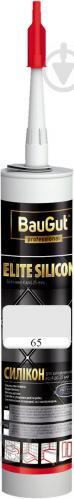 Герметик силиконовый BauGut Silicon Elite 65 белый 300мл