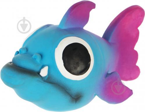 185a071a92f75 ᐉ Игрушка для собак Papillon Рыба латекс со звуком 10 см • Купить в ...