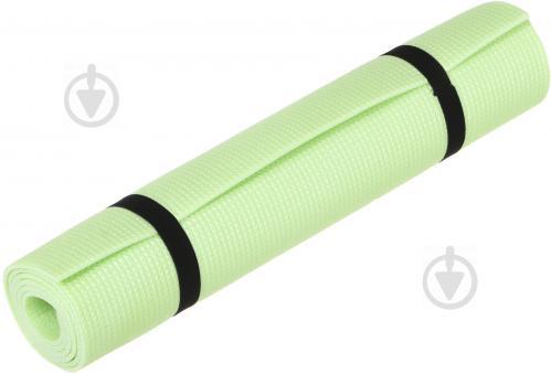 Килимок Lanor для фітнеса 1500х500х5 мм Дитинство зелений - фото 1
