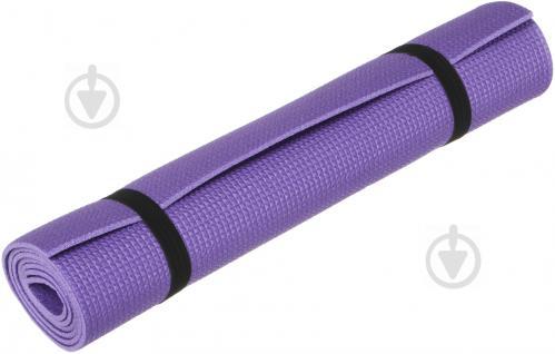 Коврик Lanor для фитнеса 1500х500х5 мм Детство фиолетовый - фото 1