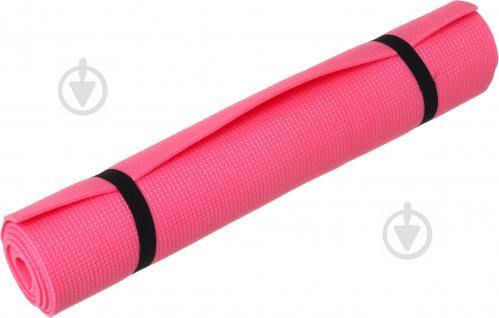 Коврик Lanor для фитнеса 1800х600х6 мм Пилатес красный - фото 1