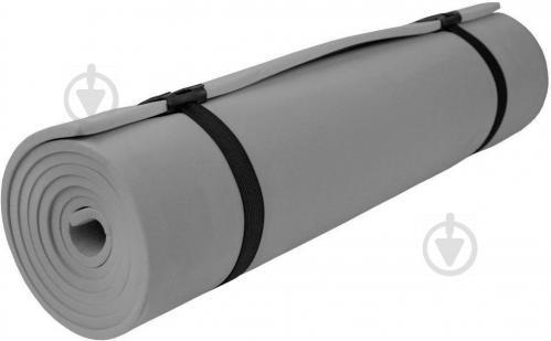 Килимок Lanor для фітнеса 1800х600х10 мм Похід сірий - фото 1