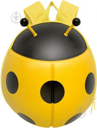 Рюкзак детский Supercute Божья коровка желтый SF032-b - фото 1