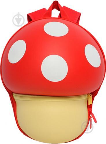 Рюкзак детский Supercute Грибочек красный SF025-a - фото 1
