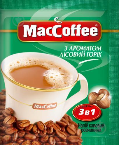Кавовий напій MacCoffee 3 в 1 Лісовий горіх 18 г (170411)