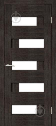 Дверне полотно ПВХ ОМіС Доміно-R ПО 800 мм венге