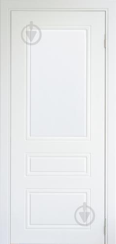 Дверне полотно Dverona Fresato №703 ПГ 800 мм білий