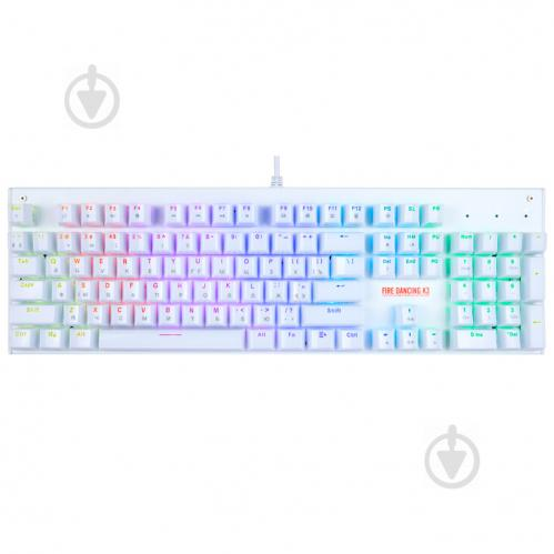Клавиатура 1stPlayer K3 RGB Outemu Red (K3-RD) USB - фото 1