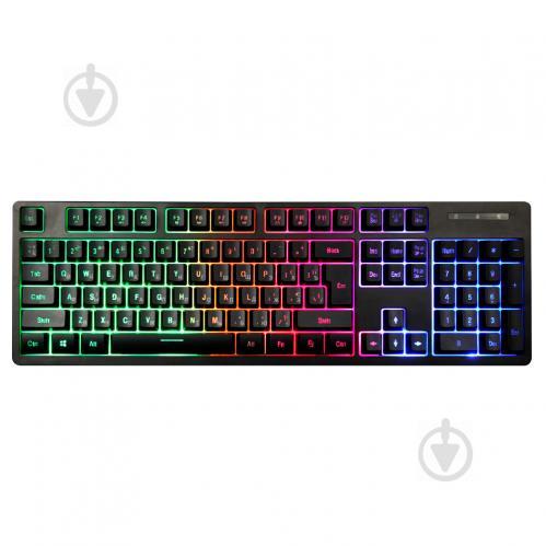 Клавиатура 1stPlayer K5 Black USB - фото 1