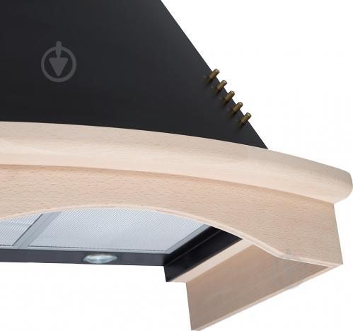 Витяжка Perfelli K 614 BLACK COUNTRY LED - фото 3