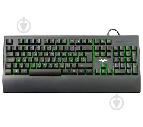 Клавиатура Frime Graphit Black USB RUS/UKR (FLK19600) - фото 1