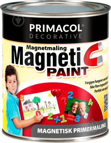 Фарба магнітна PRIMACOL DECORATIVE чорний 0.75 л - фото 1