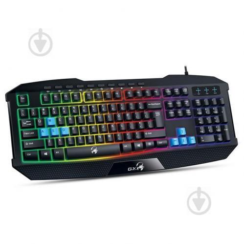 Клавиатура Genius Scorpion K215 Black, USB, UKR (31310474105) - фото 1