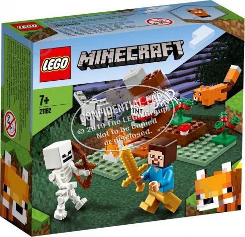 Конструктор LEGO Minecraft Приключение в тайге 21162 - фото 1