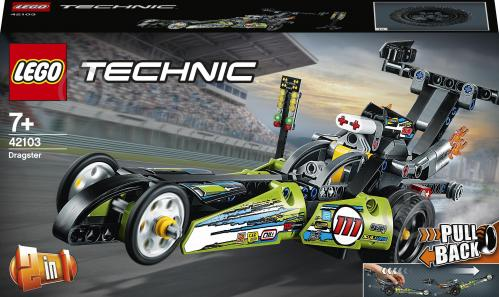 Конструктор LEGO Technic Драгстер 42103 - фото 1