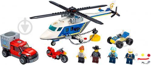 Конструктор LEGO City Погоня на поліцейському гелікоптері 60243 - фото 3