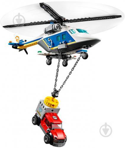 Конструктор LEGO City Погоня на поліцейському гелікоптері 60243 - фото 4