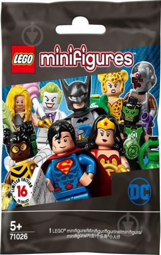 Конструктор LEGO Minifigures Минифигурки Серия DC Super Heroes 71026 - фото 1