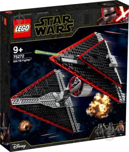 Конструктор LEGO Star Wars Винищувач TIE ситхів 75272 - фото 1