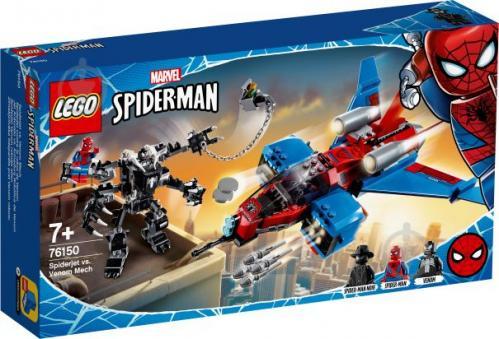 Конструктор LEGO Super Heroes Спайдерджет проти робокостюма Венома 76150 - фото 1