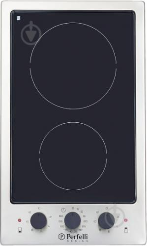 Варильна поверхня Perfelli Design HVC 3220 INOX SLIM LINE - фото 1