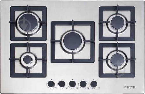 Варильна поверхня Perfelli Design HGM 7530 INOX SLIM LINE - фото 1