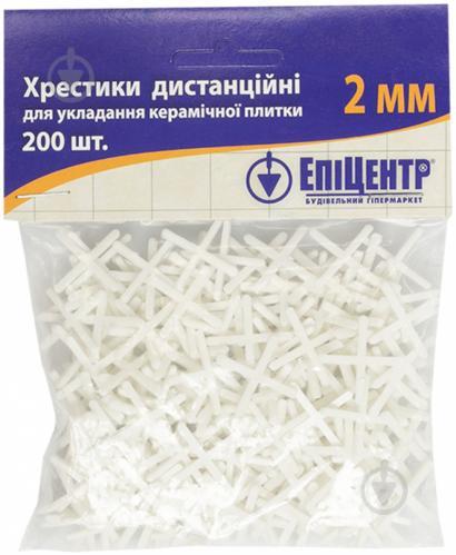 Хрестики дистанційні 2 мм
