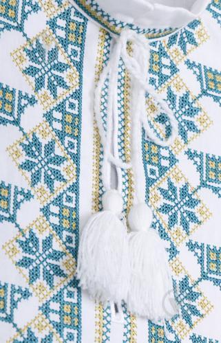 Вишиванка дитяча Едельвіка р.140-146 білий 178-17/09 - фото 4