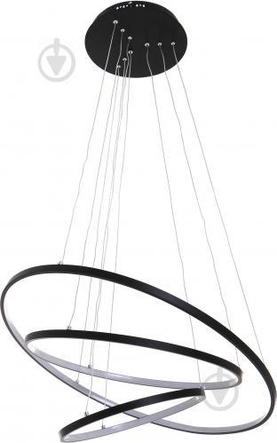 Люстра светодиодная Victoria Lighting 135 Вт черный Lanzo/SP3 black