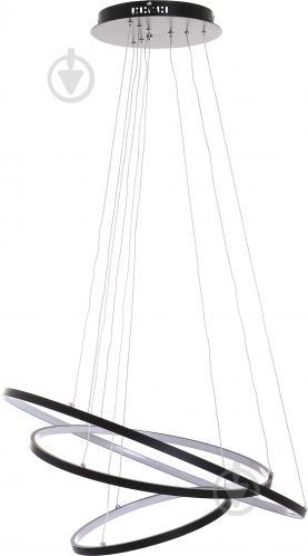 Люстра светодиодная Victoria Lighting 135 Вт черный Lanzo/SP3 black - фото 2