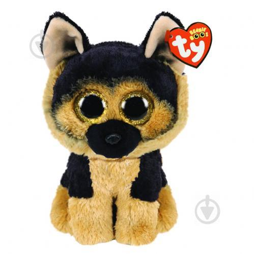 Мягкая игрушка TY Beanie Boo's Немецкая Овчарка Spirit 25 см 36473 - фото 1