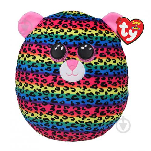 Мягкая игрушка TY Squish-A-Boos Леопард Dotty 40 см 39186 - фото 1